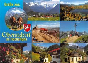 Gruesse aus Oberstdorf im Hochallgaeu, Nebelhorn Freibergsee Gerstruben