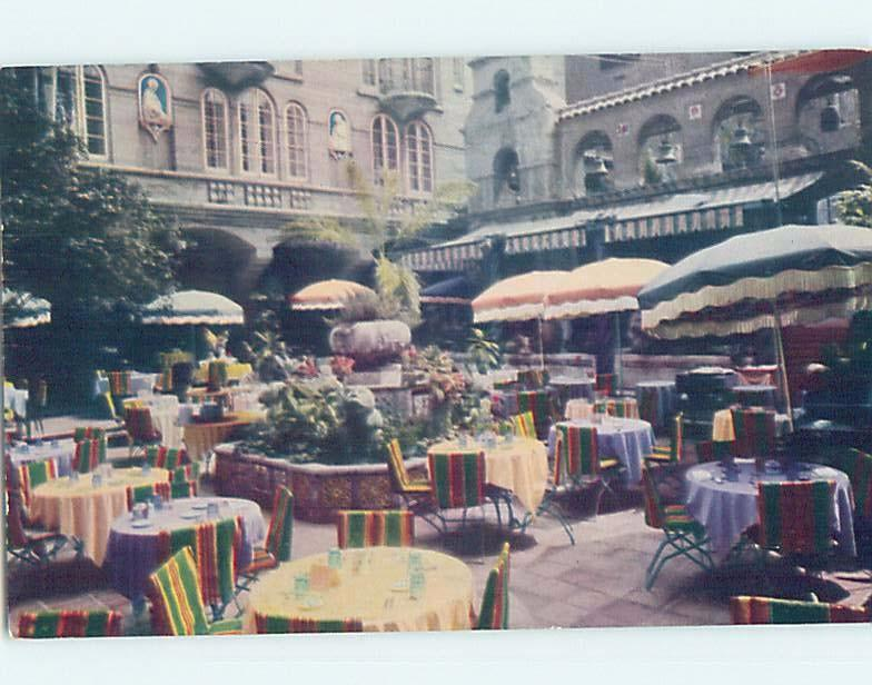 Pre-1980 RESTAURANT AT THE MISSION INN Riverside - Los Angeles CA F8134