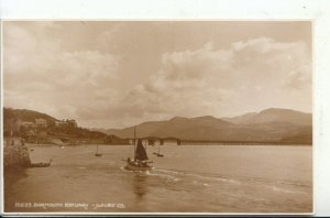 Wales Postcard - Barmouth Estuary - Merionethshire - Ref 16168A