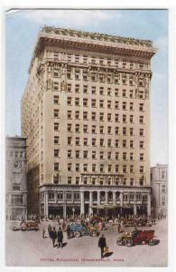 Hotel Radisson Minneapolis Minnesota 1910c postcard