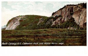 New Hampshire North Conway Cathedral Rock and White Horse Ledge