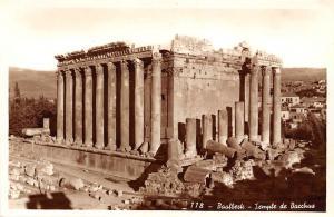 Lebanon Baalbeck - Temple de Bacchus, Vraie photographie