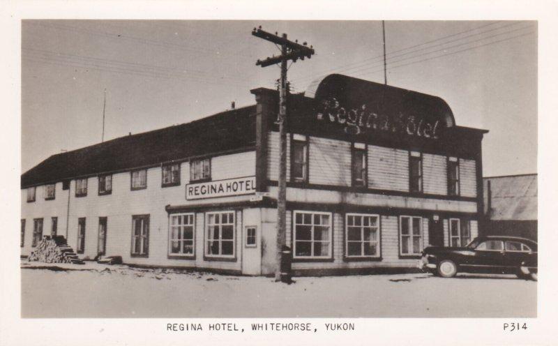 RP; WHITEHORSE, Yukon Territory, Canada, 1930s ; Regina Hotel