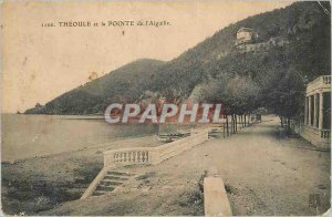 Postcard Old Theoule and the Pointe de l'Aiguille