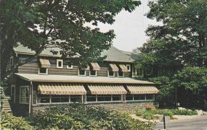 Front view,  Spruce Lake Retreat,  Canadensis,  Pennsylvania,   40-60s