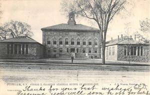 Potsdam New York Clarkson Memorial School Antique Postcard K84715