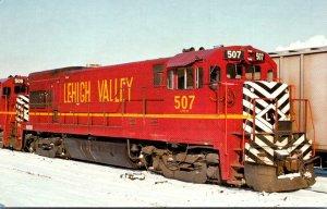 Trains Lehigh Valley U-23B Locomotive #507