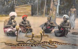 Sri Lanka, Ceylon, Native, Snake Charmers