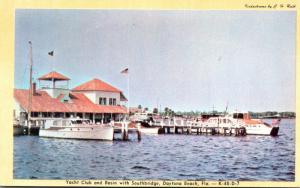 Florida Daytona Beach Yacht Club abd Basin With Southbridge Dexter Press