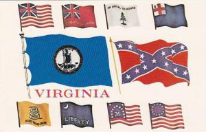 Virginia Bridgewater American Flags