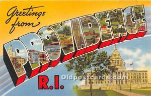 Providence, Rhode Island, RI, USA Unused