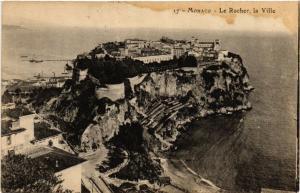 CPA Monaco - Le Rocher la Ville (476833)