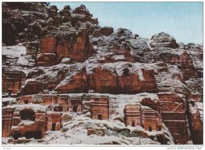 Petra, Rock Hewns and Tombs, Jordan, 50-70´s