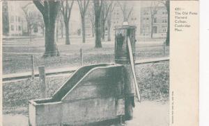 The Old Pump Harvard College,Cambridge,Massachusetts,00-10s