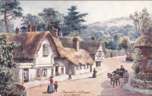 TUCK #7587; SHANKLIN, Isle of Wight, England, United Kingdom; Shanklin Villag...
