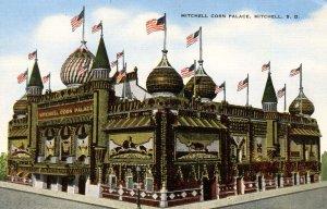 SD - Mitchell. Corn Palace, 1949