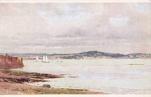 Sailboats, Torquay, From Paignton, Devon, England, UK, 1900-1910s
