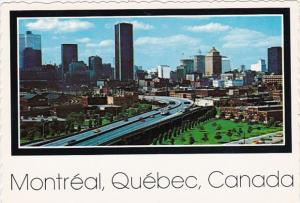 Canada Quebec Montreal Downtown View