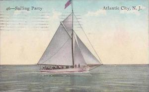 New Jersey Atlantic City Sailing Party 1911