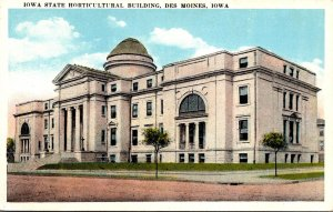 Iowa Des Moines State Horticultural Building
