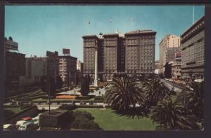 St Francis Hotel,San Francisco,CA