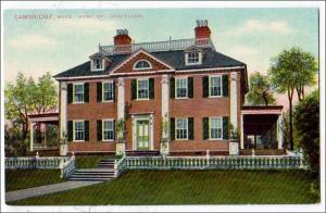 Home of Longfellow, Cambridge MA