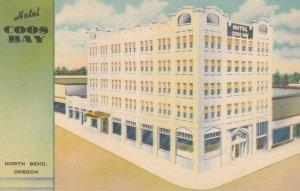 NORTH BEND , Oregon , 1930-40s ; Hotel Coos Bay