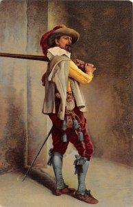 Stengel Publishing of Art Post Card J L Ernest Meissonier Unused