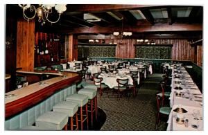 Gold Room, Perona Farms, Andover, NJ Postcard