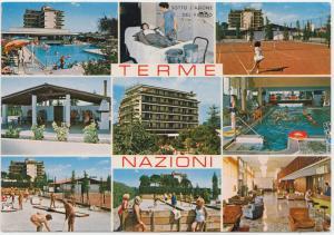 TERME NAZIONI, Montegrotto Terme, Italy, Italia, used Postcard