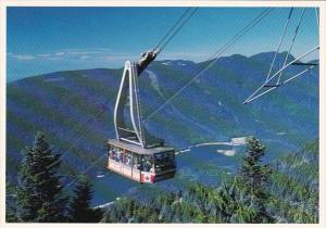 Canada British Columbia Vancouver Grouse Mountain Skyride