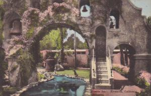 The Arch Mission Inn Riverside California Handcolored Albertype