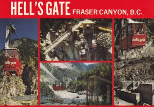 Hell's Gate , Fraser Canyon , B.C. , Canada , 50-70s