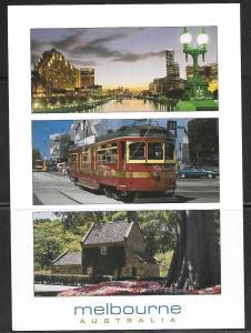 Australia, Melbourne, multiview, unused