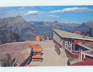 Pre-1980 RESTAURANT SCENE Banff Alberta AB AE0154