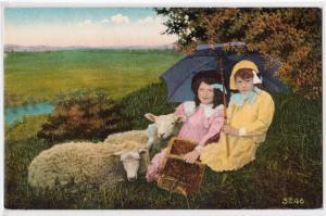 Children & Sheep