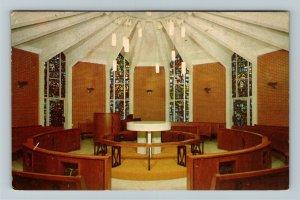 Kent OH- Ohio, Wesley Foundation and Methodist Church, Chrome c1970Postcard