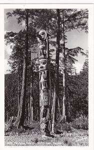 RP, Famous Totem,  Ketchikan, Alaska, 1940-1950s