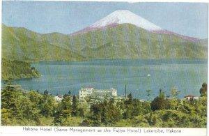 Hakone Hotel, Lake-sibe Hakone, Japan,