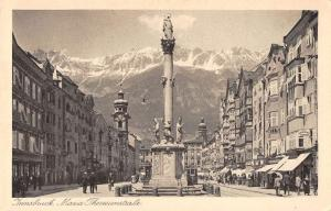 Innsbruck Austria scenic view Maria Theresienstrasse antique pc Y11973