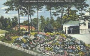 Officers' Club, Fort McPherson Atlanta GA 1946