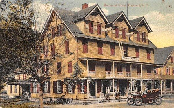 Rockland Hotel New York Postcard