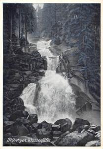 Waterfall Triberg Die Stadt im Hochwald, Deutschlands groesste Wasserfaelle
