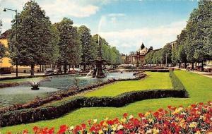 Netherlands Arnhem Park Fountain Promenade Janssingels