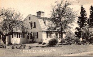 Connecticut Litchfield Etham Allen's Birthplace