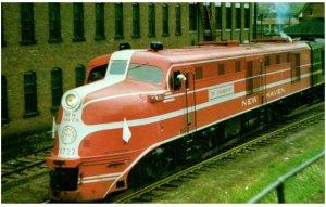 Lot of 10 vintage train postcards (#6)