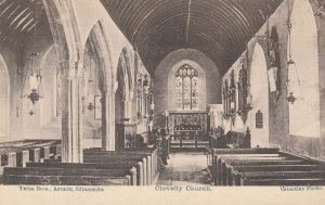 CLOVELLY, Devon, England, 00-10s ; Church Interior