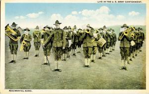 U.S. Military, WWI. U.S. Army Regimental Band