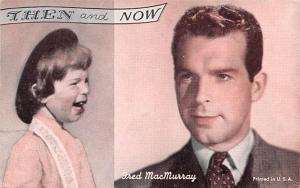 Then and Now, Fred MacMurray Actor Mutoscope Unused