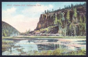 Obsidian Cliff Yellowstone National Park WY unused c1910's